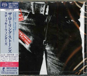ROLLING STONES Sticky Fingers SHM SACD JAPAN (UIGY-9579)