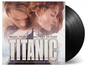 James Horner TITANIC - SOUNDTRACK black vinyl 180g 2xLP (MOVATM100)
