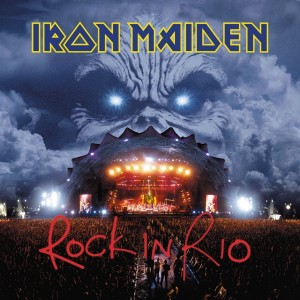 IRON MAIDEN Rock In Rio 3xLP 180g 2015 remastered