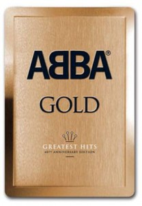 Abba Gold Anniversary Edition 3D METAL GOLD BOX SET 3xCD