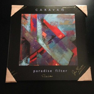 CARAVAN Paradise Filter SIGNED BY THE BAND