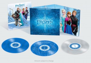 FROZEN Deluxe OST NUMBERED COLOR 3xLP rare