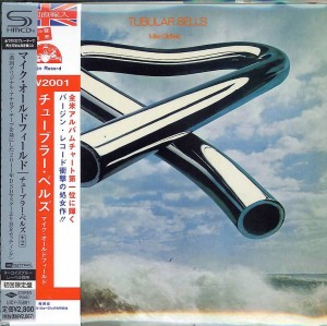 MIKE OLDFIELD Tubular Bells SHM CD HR CUT JAPAN (UICY-75891)