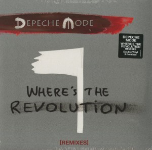 DEPECHE MODE Where's The Revolution Remixes 2x VINYL 12'