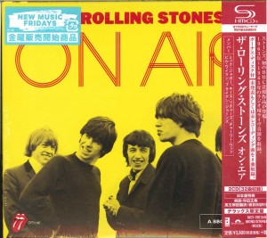 The Rolling Stones On Air JAPAN SHM 2xCD UICY-78515/16