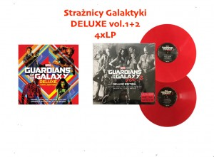 Guardians Of The Galaxy STRAŻNICY GALAKTYKI vol. 1+2 DELUXE ZESTAW 4xLP