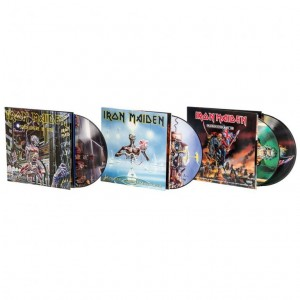 IRON MAIDEN zestaw 4xLP VINYL PICTURE DISC
