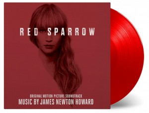 James Newton Howard RED SPARROW 2xLP RED COLOURED VINYL