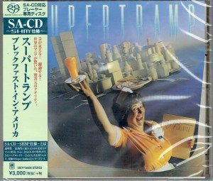 SUPERTRAMP Breakfast In America JAPAN SHM SACD (UIGY-15006)