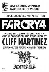 Cliff Martinez FARCRY 4 limited COLOR 3xLP