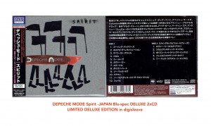 DEPECHE MODE Spirit -JAPAN Blu-spec DELUXE 2xCD SICP-30937-38