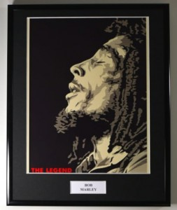 BOB MARLEY One Love (photo display)