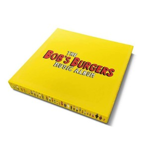 THE BOB'S BURGERS MUSIC ALBUM -box: COLOURED 3xLP+7