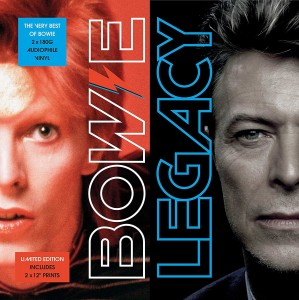 DAVID BOWIE Legacy (The Very Best Of) 2xLP 180g STANDARD