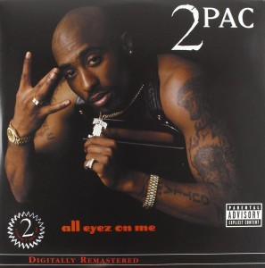 2PAC TUPAC All Eyez On Me 4xLP