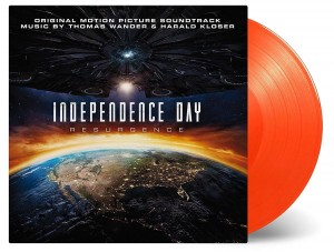 INDEPENDENCE DAY: RESURGENCE - orange 180g LP (MOVATM121)