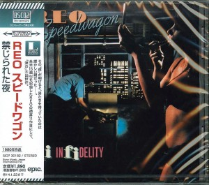 REO SPEEDWAGON Hi Infidelity Blu-spec CD2 JAPAN (SICP-30182)