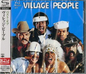 VILLAGE PEOPLE The Best Of Village People SHM-CD UICY-25200