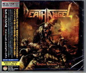 DEATH ANGEL Relentless Retribution (JAPAN CD KICP-3305)