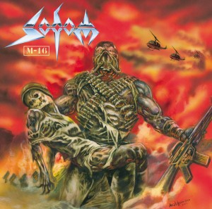 SODOM M-16 - 2xOrange/Gold LP +CD