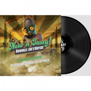 MICHAEL BROSS New 'N' Tasty! Oddworld Abe's Oddysee (VIDEO GAME OST)