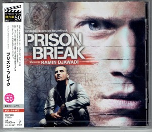 PRISON BREAK by Ramin Djawadi - OST JAPAN CD RBCP-2834
