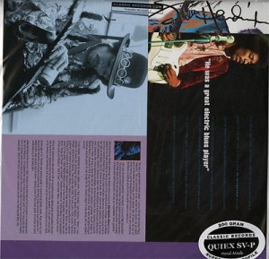 JIMI HENDRIX Blues LP QUIEX 200gr SV-P