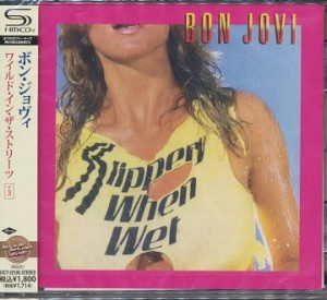BON JOVI Slippery When Wet JAPAN SHM CD +bonus (UICY-20186)