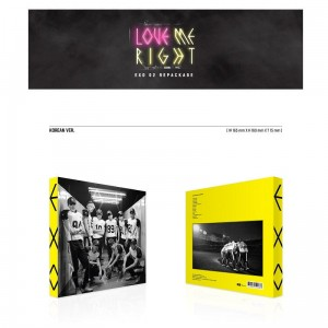 EXO Love Me Right KOREAN VERSION (KPOP CD)