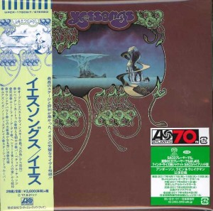 "YES Yessongs JAPAN 2xSACD - 7"" cardboard sleeve WPCR17606"