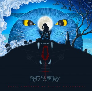 ELLIOT GOLDENTHAL Pet Sematary - OST 2xLP