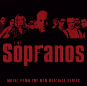 SOPRANOS Rodzina Soprano - HBO TV Soundtrack 2xLP RED TRANSLUCENT