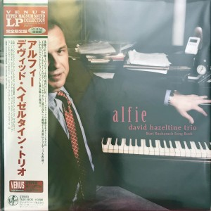 DAVID HAZELTINE TRIO Alfie Burt Bacharach JAPAN 200g LP (TKJV-19175)