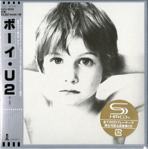 U2 Boy - JAPAN SHM CD LIMITED cardboard sleeve UICI-9055