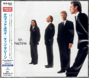DAVID BOWIE Tin Machine JAPAN CD WPCR-80101