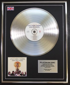 E.L.O. The Best Of ELO PLATYNOWA LP display