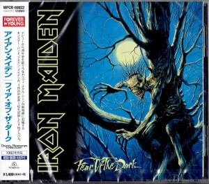 IRON MAIDEN Fear Of The Dark JAPAN CD+VIDEO (WPCR-80022)