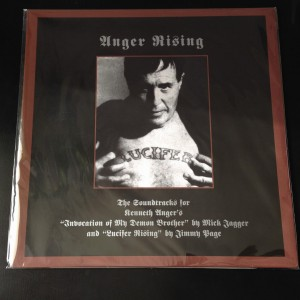 Mick Jagger / Jimmy Page ANGER RISING (white LP)