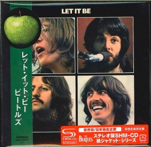 THE BEATLES Let It Be SHM CD JAPAN (cardboard UICY-76979)