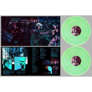 PERTURBATOR I Am the Night GLOW-IN-THE-DARK 2xLP