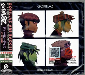 GORILLAZ Demon Days - Japan CD TOCP-66380