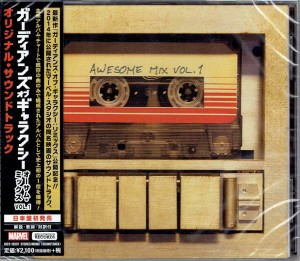 Guardians Of The Galaxy Awesome Mix Vol. 1 JAPAN CD (UICY-15597)