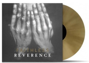 FAITHLESS Reverence GOLD 2xLP -2015 limited number
