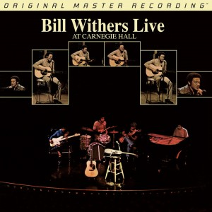 BILL WITHERS Bill Withers Live At Carnegie Hall 2xLP MFSL 2-446