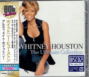 WHITNEY HOUSTON Ultimate Collection BLU-SPEC japan SICP-30434