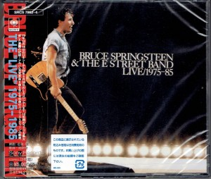 BRUCE SPRINGSTEEN The 'Live' 1975-85 3xCD JAPAN (SRCS-7862)