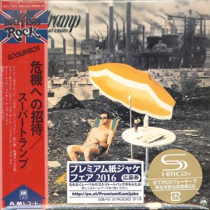 SUPERTRAMP Crisis? What Crisis? JAPAN SHM-CD (CARDBOARD UICY-77875)