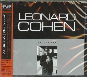 LEONARD COHEN I'm Your Man - JAPAN CD (SICP-5179)