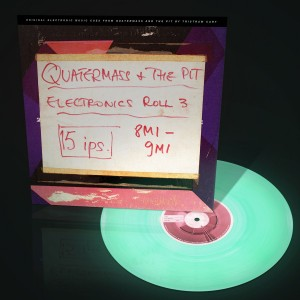RSD17 TRISTRAM CARY Quatermass and the Pit - Electronic Cues 10' LUMINOUS VINYL