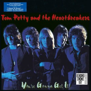 RSD11 TOM PETTY AND THE HEARTBREAKERS You're Gonna Get It! BLUE LP